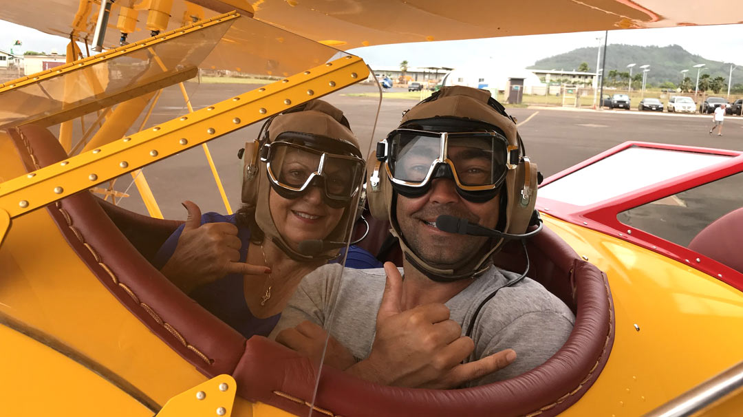A Hawaii Biplane Adventure!