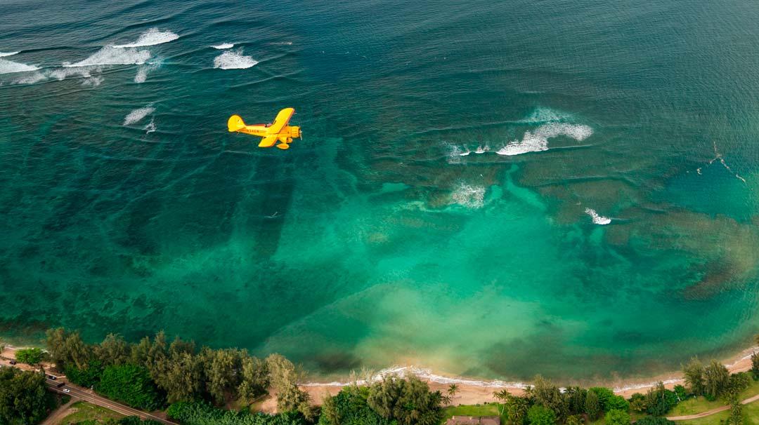 Biplane Tour of Kauai