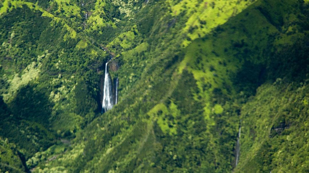 Jurassic Park Waterfall
